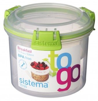 Sistema Breakfast to Go groen
