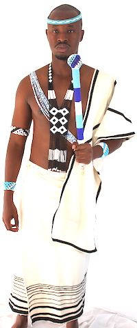 Traditional Xhosa outfit