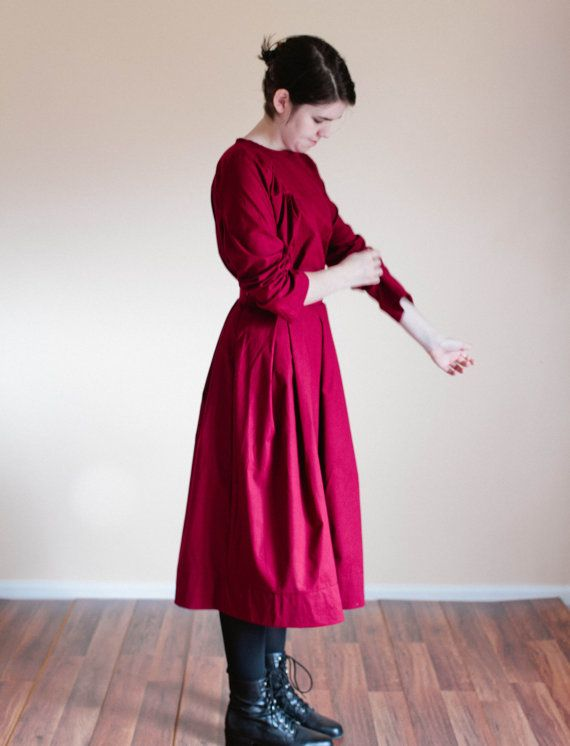 This listing is for a plain skirt and blouse, made to order with your custom measurements and color choices! The skirt comes in pleated,