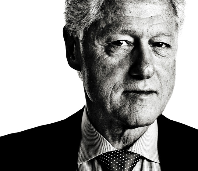 bill clinton - the discerning brute
