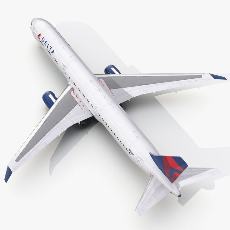 Boeing 767 400Er Delta Air Lines 3D Model - 3D Model