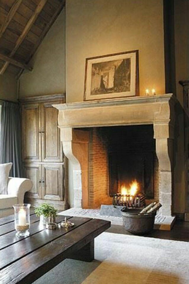 In love with this fireplace