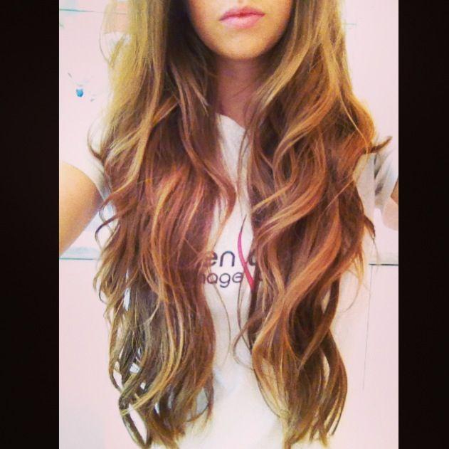 best hairstyle for fat face : ... Hair, Long Hair, Longer Hair, Beach Waves Hairstyles, Long Waves, Hair