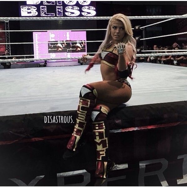 The gorgeous wwe raw women's champion Alexa Bliss.