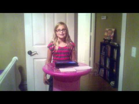 ▶ Winning Speech - Elementary Student Council Vice President - for persuasive unit