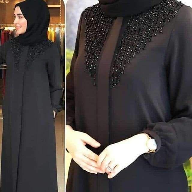عباية قفطان إيراني مطرزة باللون الأسود مصنوعة حسب الطلب عباية دبي Https M Arabic Alibaba Com P In 2021 Muslim Fashion Outfits Abaya Fashion Hijab Fashion Inspiration