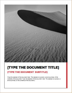 Report Essential Design DOWNLOAD at http://www.templateinn.com/15-report-writing-layout-templates-for-ms-word/