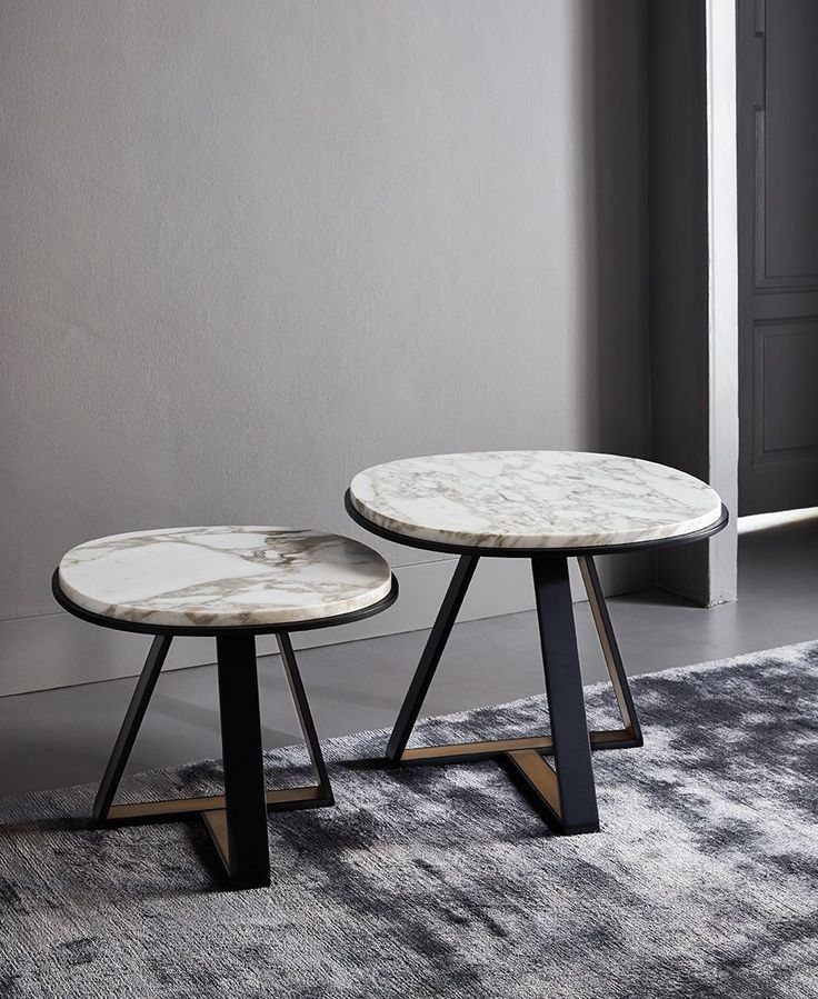 MODERN SIDE TABLES | marble top side table  | bocadolobo.com/ #luxuryfurniture #designfurniture                                                                                                                                                      More