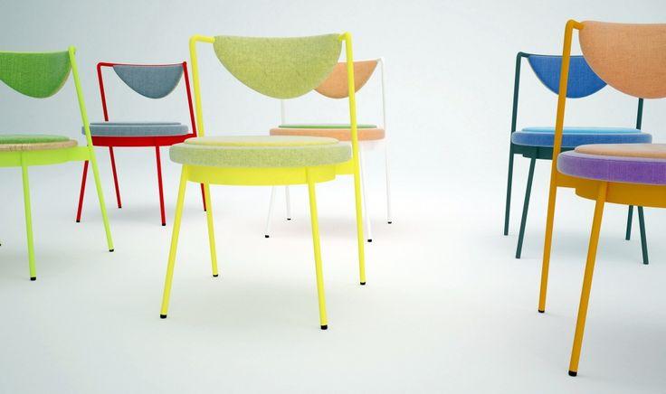 Shells Dining Chair - Shello 2 Dining Chair - обеденный стул. Разные цвета. Магазин стильной мебели и света wooddi.com  Скандинавский стиль, модерн. #обеденный #дизайнерский #стильный #оригинальный
