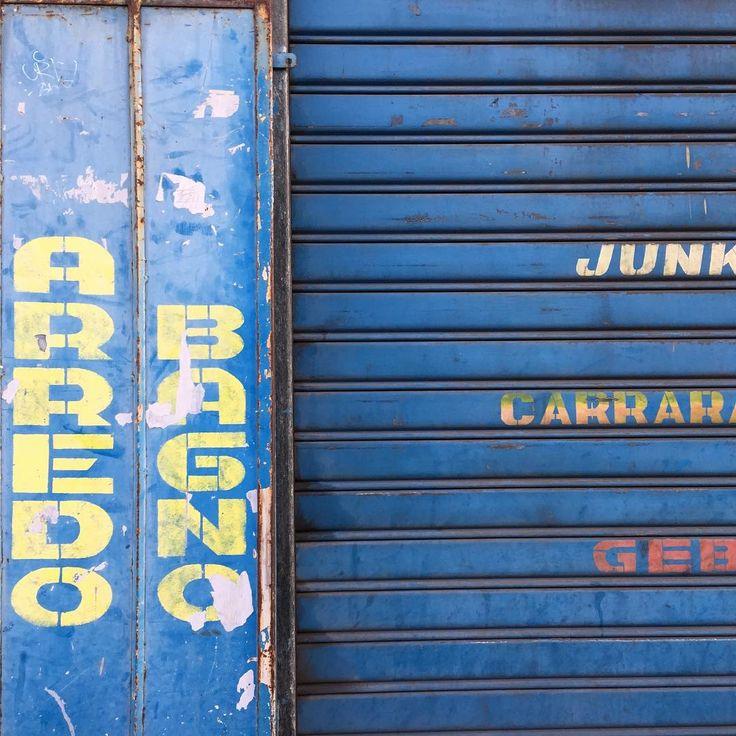 Piccola Bottega della Grafica #typography #city #sign #city
