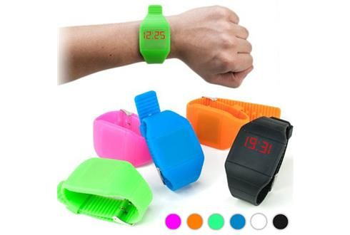Relógio de Pulso Digital com Ecrã Tátil - Descontos Lifecooler