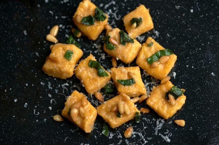 Mary McCartney's sweet potato gnocchi