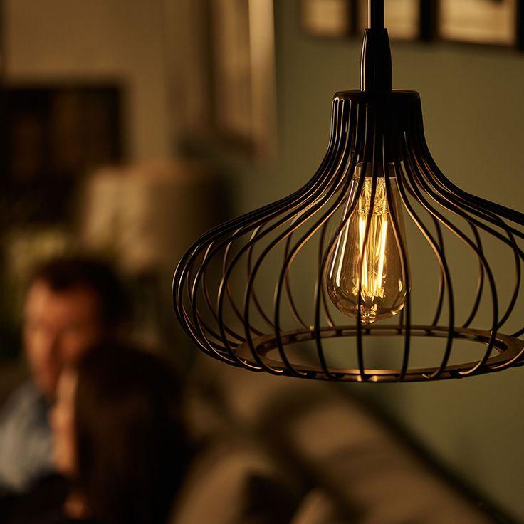 Philips, paquete de 6 focos filament LED ST19 5.5W (40W) calido dimeable | Costco Mexico