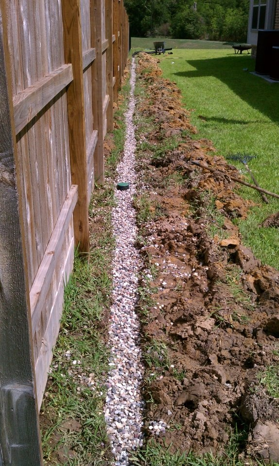 97 best images about dry creek bed french drain on for French drain in yard