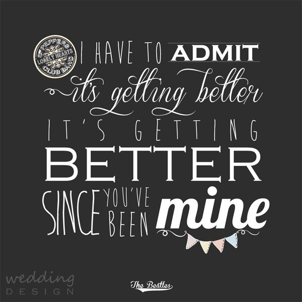 Canvas with quote - Festővászon idézettel Graphic/Grafika: Wedding Design