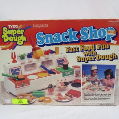 1988 Tyco super dough snack shop: