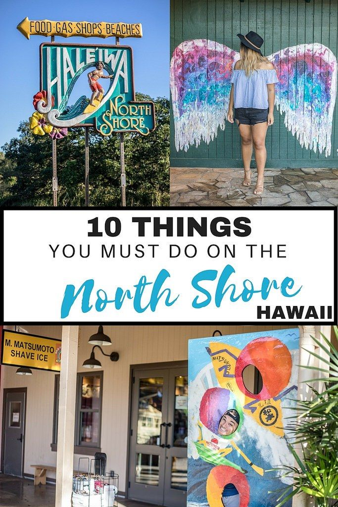 Top 10 Things You Must Do on the North Shore (Oahu, Hawaii) | Wanderlustyle.com https://Rumtreiberin.com