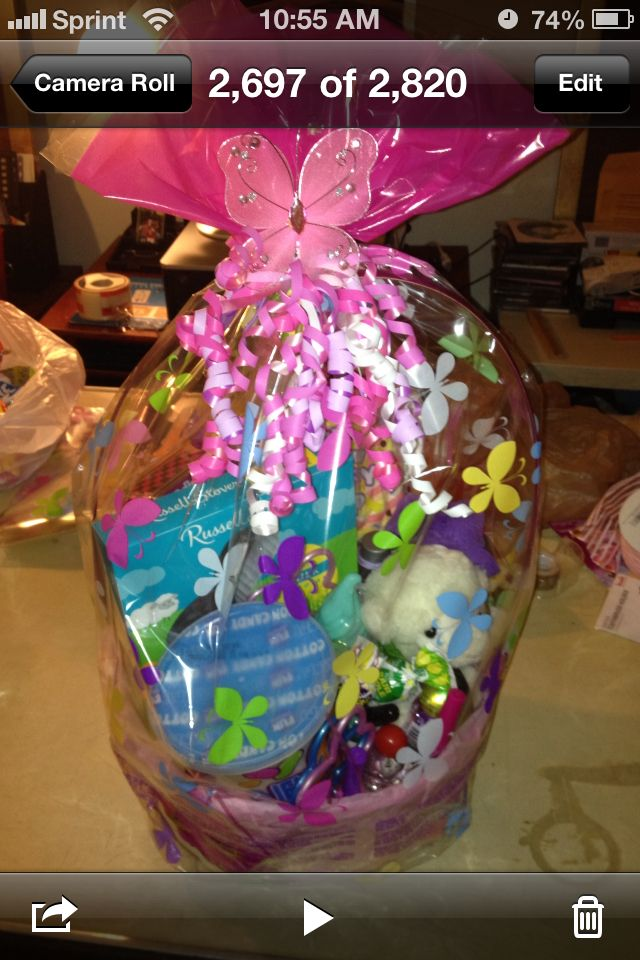 208 best easter images on pinterest baby ideas daughters and little girls easter basket negle Images