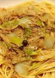 ツナと白菜でポカポカ中華スープパスタ