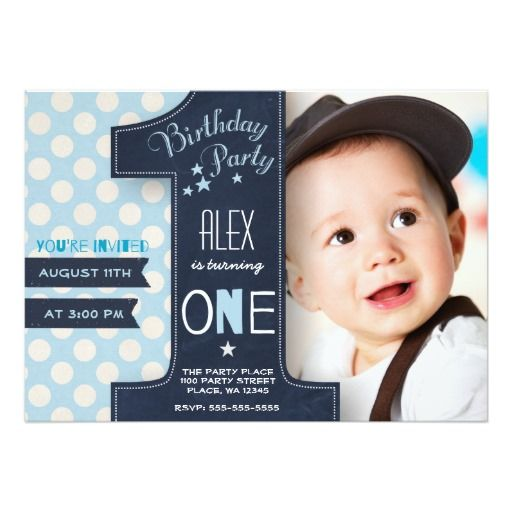 310 best 1st Birthday Invitations images on Pinterest 1st birthday