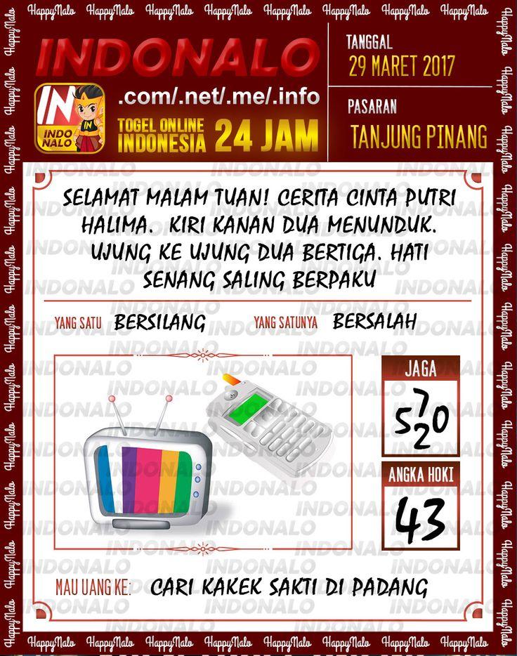 Kode Mistik 6D Togel Wap Online Indonalo Tanjung Pinang 29 Maret 2017
