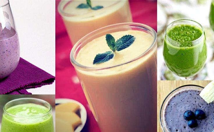 ¿Cómo desintoxicar el cuerpo después de las vacaciones? 5 Recetas de licuados saludables  #easter #vacaciones #salud # smoothies