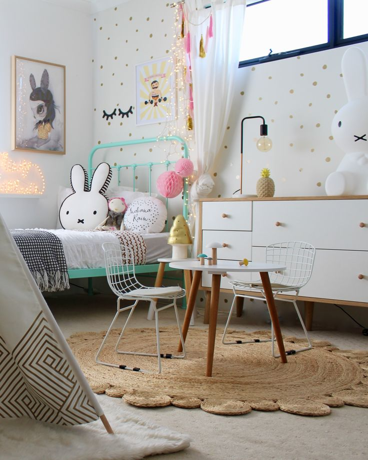 Kids bedroom ideas   four cheeky monkeys   girls and toddler rooms