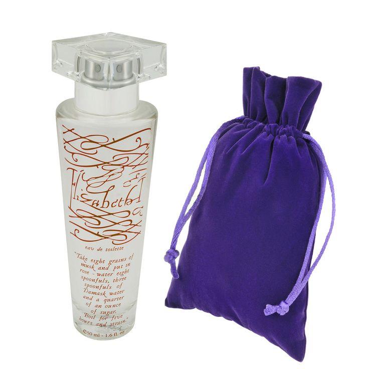 Elizabeth I eau de toilette. Made from the actual perfume recipe Elizabeth I wore! Historic Royal Palaces.