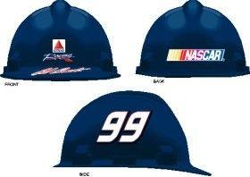 Jeff Burton Hard Hat