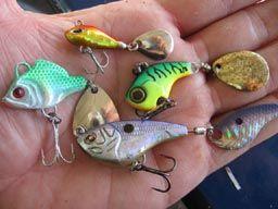 leurres de pêche tailspin