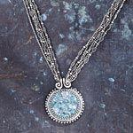 Michal's Aquamarine Necklace