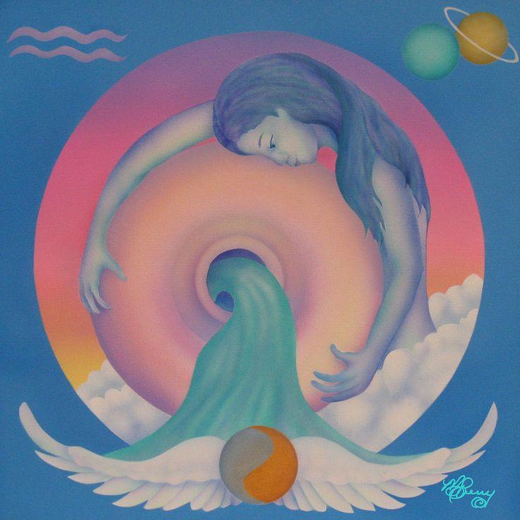 verseau par Marcia Perry.  For more about #Aquarius visit: www.theAstrologer.com/Aquarius