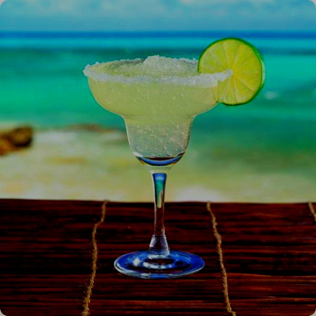 A perfect Margarita .. Yum mmm