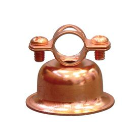 """FOR ATTACHING """"stems"""" TO DISH FLOWERS!!! $1.Cambridge Resources -Pack 1-in - 1-in Dia Copper Plated Steel Bell Hangers"""