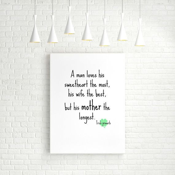 Irish Proverb. INSTANT download. Printable by PrintablesNow