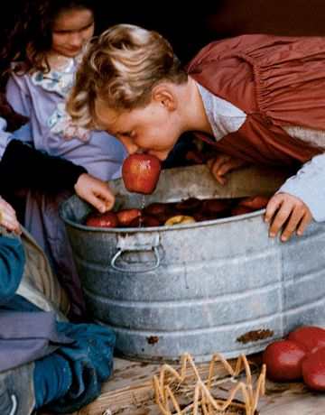 Bobbing for Apples and other medieval party ideas