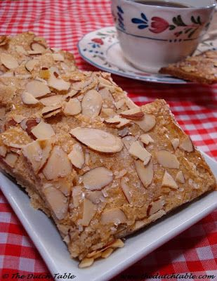 The Dutch Table: Janhagel (Dutch Cinnamon Cookie)