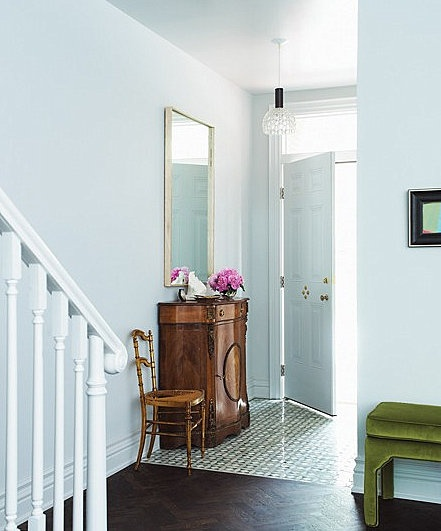95 Home Entry Hall Ideas For A First Impressive Impression: Brabourne Farm: First Impressions, Tile Entry
