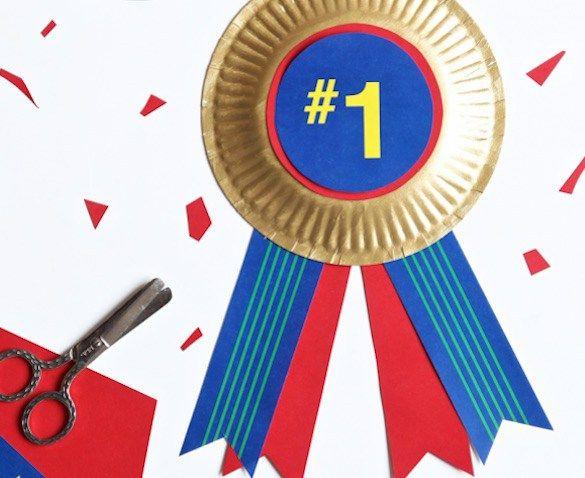 Medalla al mejor Padre, manualidad infantil Día del Padre