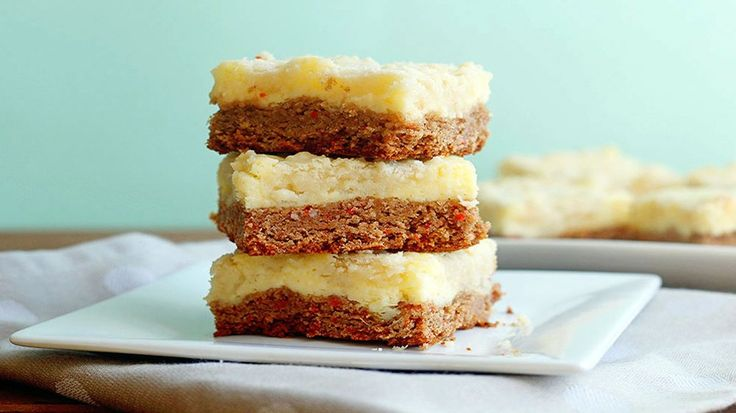 This easy-yet-indulgent twist on carrot cake is a great make-ahead treat!