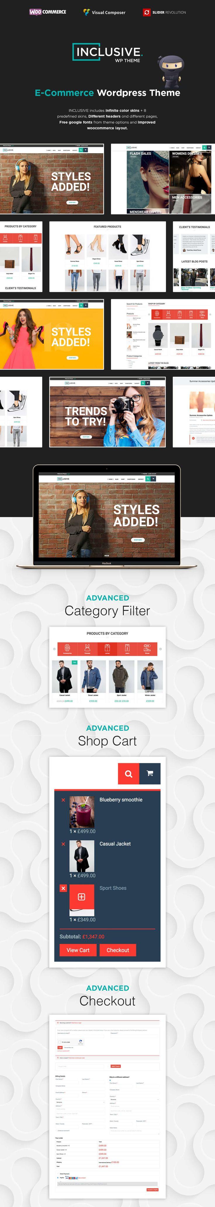 Inclusive - Multipurpose WooCommerce WordPress Theme by modeltheme