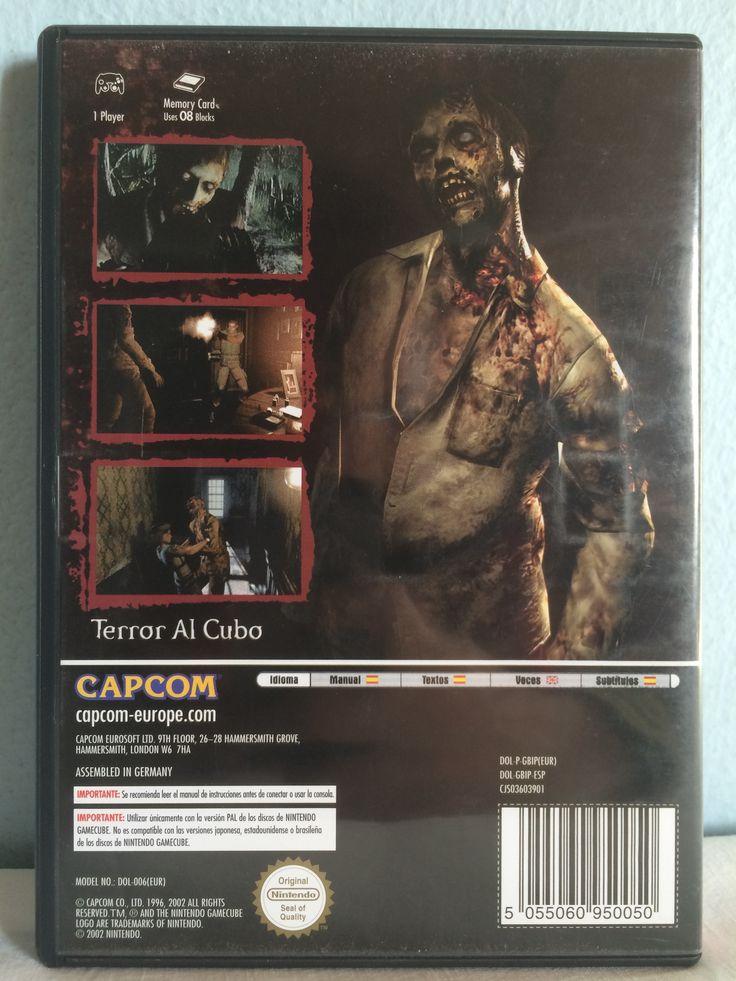 Resident Evil game behind.