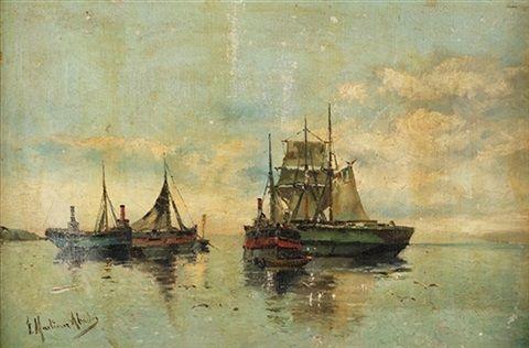 """Barcos de pesca"" by Juan Martinez Abades"