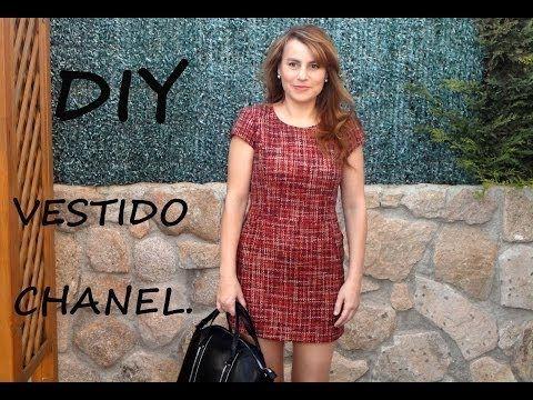 Vestido tipo chanel diy. Patrón del vestido en tienda.patronesmujer.com - YouTube                                                                                                                                                                                 Más