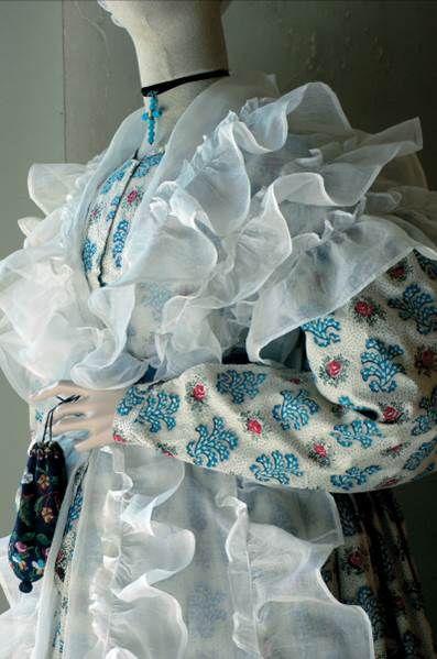 Robe artisane Cazenou – Vers 1835/1840- Fragonard Parfumeur #Collection #Museum