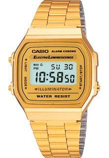 Часы Casio Illuminator A-168WG-9 / A-168WG-9EF