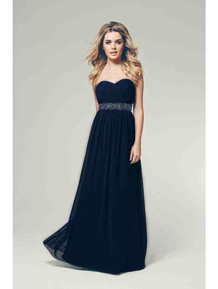 Pleated Bust Maxi Dress | Jane Norman DE gala jurk voor Emma!
