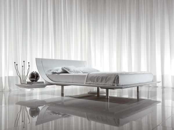 aqua model bed of presotto modern and minimalist
