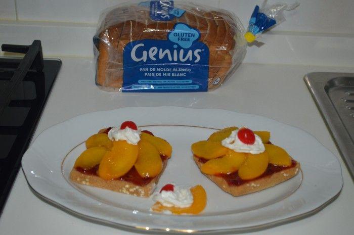Una merienda de #verano muy dulce :) Tapa #GeniusSinGluten hecha por Silvina Segovia.