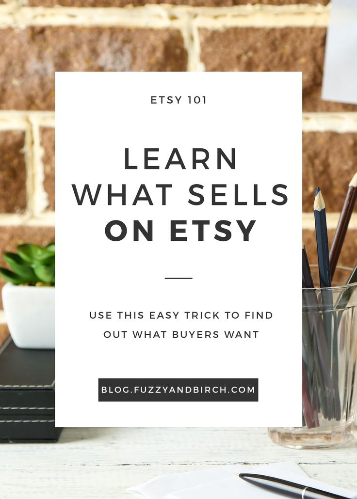 "As Etsy Sellers, we spend all our energy on one crazy life-or-death quest: ""how can I make more sales?!?!?!""…BUT let's all just pause and take a breath for a minute. There's an even MORE important question that you're not asking. (Are you ready for it? Should I do a countdown?) Here it is: Why do SOME items sell on Etsy and not others? How can we sell stuff on Etsy if we don't know WHAT and WHY people are buying? Learn how to get a handle on what makes buyers spend money."